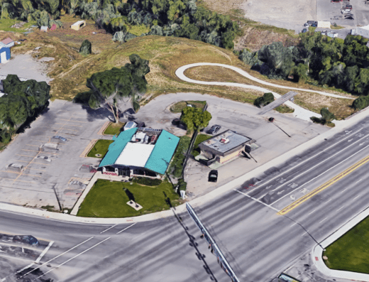 279 E Airport Road. Aerial view
